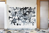 The Playground 12 (2018) Acrylic on canvas, charcoal 1620x1120mm (mayakonakamura) Tags: mayako nakamura mayakonakamura abstract painting acrylic charcoal canvas emaki automatic drawing theplaygroundseries experiment grey gray blackandwhite