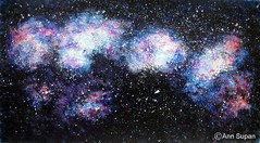 GALACTIC 3 (Sketchbook0918) Tags: galactic galaxy night nebula meteor stars constellation aerospace space outerspace watercolor abstract painting paper science astronomy colorful sky clouds