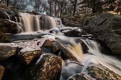 Morning at Chapman Falls #1 (tquist24) Tags: chapmanfalls connecticut devilshopyardstatepark eightmileriver nikon nikond5300 outdoor cold geotagged ice longexposure river rock rocks snow tree trees water waterfall winter easthaddam unitedstates