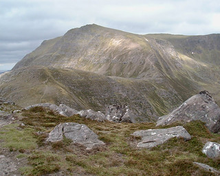 Slioch upper reaches, from Sgurr Dhubh