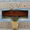 Steel Strapped (David Abresparr) Tags: steel strapped steelstrapped sign skylt rost rusty rostig