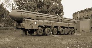 Soviet RT-2PM Topol Nuclear Launcher