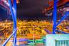 Containership in Hamburg (CMA CGM Alexander von Humboldt) Tags: hamburg hafen waltershof containerterminal terminal burchardkai harbour port containerbrücke gantry crane containervessel containerschiff containership gangway container teu sea meer upperdeck navigation brücke welcome bord boxship freighter big gigant large willkommen frachtschiff frachter crew mannschaft tug tugboat bugsier schlepper hafenschlepper morgenlicht morninglight lashing boxes twistlock vancarrier tetris mooring cma cgm alexander von humboldt kommandorücke nautical bridge reflection lights darkness dunkelheit lichter spiegelungen stapeln ausblick panorama view travelling journey aussichtsturm aussicht seamen seefahrer action