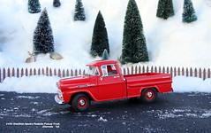1958 Chevrolet Apache Fleetside Pickup Truck (JCarnutz) Tags: 124scale diecast danburymint 1958 chevrolet apache fleetside pickuptruck