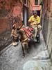 Sin prisas / No hurries (jfraile (OFF/ON slowly)) Tags: marrakech burro transporte calle callejuela fotocallejera marruecos donkey transport street backstreet streetphoto morocco people jfraile javierfraile