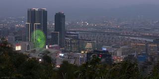 Miramar Ferris Wheel in the Evening