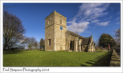 St Mary's, Roxby, North Lincolnshire (Paul Simpson Photography) Tags: church religion stonebuilding history historic churchtower sonya77 february2018 tree imagesof imageof photoof photosof roxby villagechurch paulsimpsonphotography bluesky northlincolnshire grass oldbuilding england parishchurch viewsofengland churchesinengland churchesinlincolnshire