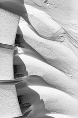 Snow Drifts (AP Imagery) Tags: drift misc monochrome kentucky drifts smotherspar ky abstract bw blackandwhite downtown snow usa