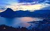 Lugano golfo (Photo by Lele) Tags: lugano golfo lago ceresio panoramica panorama landscape città turismo ticino svizzera switzerland