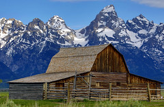 Moulton Barn (Dan9900) Tags: travel barn barns moulton grand teton national park tetons mountains mountain landscape rustic country traveler mndphoto traveling wanderlust home beautiful canon beauty blue west wyoming jackson hole yellowstone american lima ohio dan sproul