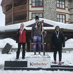 U19 Kimberley DH - 1st Katrina VanSoest BAR;  2nd Kristen Gigi Kranjc WMSC;  3rd Charlize Street FAST