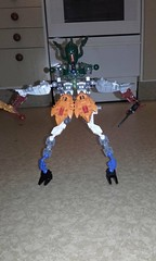 Bionicle (sebilden) Tags: sebilden lego bionicle robot warrior experiment colorful secondhand mismatch fun play toys