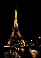 European city lights