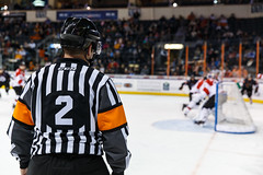 """Kansas City Mavericks vs. Cincinnati Cyclones, February 2, 2018, Silverstein Eye Centers Arena, Independence, Missouri.  Photo: © John Howe / Howe Creative Photography, all rights reserved 2018. • <a style=""""font-size:0.8em;"""" href=""""http://www.flickr.com/photos/134016632@N02/39407206704/"""" target=""""_blank"""">View on Flickr</a>"""