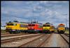 DB Cargo 1613, 1602 + RRF 4401, 561-05, Rotterdam Waalhaven 15-07-2017 (Henk Zwoferink) Tags: rotterdam zuidholland nederland nl rrf db cargo 1600 alstom class66 henk zwoferink rail magazine boekpresentatie uquilair