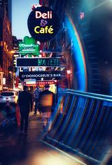 Deli & Cafe - Through the prism. (Matthias Dengler || www.snapshopped.com) Tags: new york usa matthias dengler snapshopped dark street photography travel woodhaven documentary explore create prism
