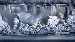 Frozen (Ali Zim) Tags: ali azimian fuji fujinon niagara falls frozen 56mm f12 nifty fifty ontario canada st catharines waterfall winter cold colour ice water award beauty nature h20 majestic purple blue snow icycle icicle gorgrous screen saver backdrop light night photography long exposure xt20 canadian valentines day 2018