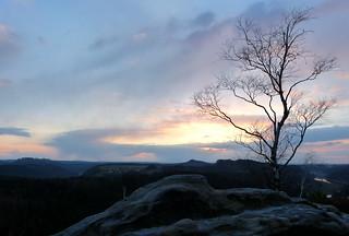Und wieder mal ein Sonnenuntergang:-)