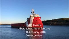 VOS Passion - Aberdeen Harbour Scotland 12/2/2018 (DanoAberdeen) Tags: tug tugboat transport torry aberdeen autumn aberdeencity aberdeenscotland abdn candid cargoships cityofaberdeen clouds scotland spring scotia schotland skottland dano danoaberdeen danophotography docks seafarers summer scottish škotija shipspotters shipspotting 2018 mpeg northsea northseasupplyships northseasupplyvessels northeastsupplyships northeastsupplyvessels oilships oilrigs offshore offshorevessels offshoresupplyship offshoresupplyships iphone iphone7plus iphoneography iphonevideo video workboats pilotboat psv uk gb vospassion vroonoffshore px121 vroon