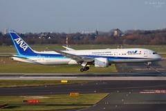 All Nippon Airways (ab-planepictures) Tags: dus düsseldorf eddl flugzeug plane planespotting airport flughafen