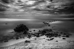 16 stops (jan.wallin) Tags: bw longexposure leebigstopper afsnikkor241204gvr 16stops nikond750 leelandscapepolariser leelittlestopper seascape blackandwhite monchrome ocean water rock sky sand mauritius indianocean island africa