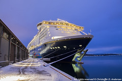 Color Magic ved SAK (2) (Christoffer Andersen) Tags: colorline colormagic cruiseferry worldlargestcruiseshipwithcardeck passengership portofoslo oslo oslofjorden