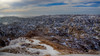Panorama Point (Paul Domsten) Tags: badlands landscape snow sky mountain southdakota pentax frost fog winter clouds nationalpark badlandsnationalpark