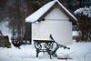 Winterpause (Ernst_P.) Tags: aut inzing tirol toblaten österreich walimex samyang 135mm f20 bank tisch mesa silla schnee winter snow nieve capilla kapelle