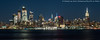 Midtown View (20180113-DSC07365) (Michael.Lee.Pics.NYC) Tags: newyork newjersey hoboken hudsonyards midtown hudsonriver esb empirestatebuilding 34thstreet timessquare construction architecture cityscape skyline night longexposure sony a7rm2 fe24105mmf4g