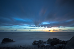 Edge to infinity (Rico the noob) Tags: dof landscape sunset nature d500 outdoor madeira stones sea longexposure beach ocean published sun 2017 sky 1120mm water coast clouds 1120mmf28