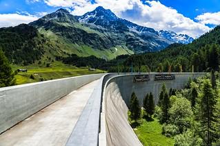 The Orden dam