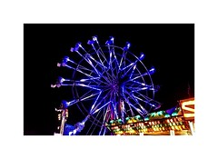 The Fair (BlueisCoool) Tags: flickr foto photo image capture picture photography nikon coolpic l330 blue purple color colorful bright vivid carnival fair travel depth urban wheel florida bigwheel ferriswheel observationwheel trinityflorida