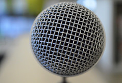 microphone closeup by paul (Paul Iwancio) Tags: microphone voice recording audio recordingstudio recordinggear