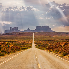Forest Gump Point (johnsdigitaldreams.com) Tags: composite monumentvalley sonyalpha forestgumppoint landscape sonya7rm2 johnsdigitaldreamscom johnchandler hdr mexicanhat utah unitedstates us