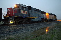UP LRR62-14 (caltrain927) Tags: union pacific railroad mixed freight local train emd gp60 sd402 sd40n rebuild st louis southwestern cotton belt lincoln ca california