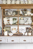 Rustic Open Storage (Heath & the B.L.T. boys) Tags: kitchen rustic hutch pitcher canister wire drawer bucket jars plates