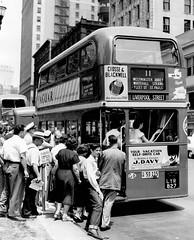 London transport RT2776  Detroit June 1952. (Ledlon89) Tags: rt rtbus aecregent london bus buses londontransport lt lte londonvehicle vintagebuses