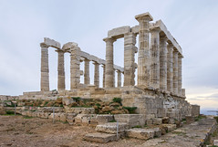 Temple Of Poseidon - Cape Sounion, Attica, Greece (Ava Babili) Tags: attica greece sounion temple archeology poseidon architecture antiquity