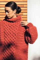 Heavy red textured woolen turtleneck (Mytwist) Tags: ilovemrmittens aran high neck marsala 20171012220740 red hot outfit heavy mr mittens mrmittens sweatergirl knitwear style fashion tn tneck sexy wool knit aranstyle girl