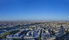 París (José M. Arboleda) Tags: panorama ciudad arquitectura cielo tarde torre eiffel parís francia eos josémarboledac ef24105mmf4lisusm markiii canon 5d