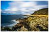 Portencross, North Ayrshire, Scotland (Stuart Allan38) Tags: portencross iamnikon nikon1685 nikond7100 longexposure le scotland sea rocky colour scottish northayrshire rollingclouds clouds blue scottishhills hills bigstopper ndgrads