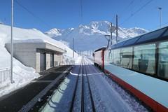 MGB - Station Nätschen Oberalp (Kecko) Tags: 2018 kecko switzerland swiss schweiz suisse svizzera innerschweiz zentralschweiz uri nätschen oberalp pass oberalppass matterhorngotthardbahn railway railroad mgb eisenbahn bahn bahnhof station train zug glacierexpress winter schnee snow swissphoto geotagged geo:lat=46642180 geo:lon=8611730