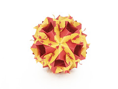 Laurentia (masha_losk) Tags: kusudama кусудама origamiwork origamiart foliage origami paper paperfolding modularorigami unitorigami модульноеоригами оригами бумага folded symmetry design handmade art