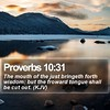 Daily Bible Verse - Proverbs 10:31 (daily-bible-verse) Tags: background inspired lessons bible inspiration motivationalwallpapers inspirationallockscreen