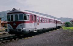 R7599.  Ralcars at Brescia. 10th May, 1961. (Ron Fisher) Tags: diesel dieseltrain dieselmultipleunit railcar fs fsitalia italianstaterailways rail railway railroad eisenbahn chemindefer