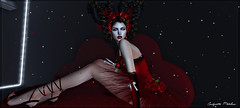 Rouge d'Amour !!! (candynette.metaluna) Tags: tentations irrisistible letituier foxcity