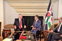 Secretary Tillerson Chats With the King Abdullah II of Jordan (U.S. Department of State) Tags: rextillerson amman jordan abdullahiibinalhussein