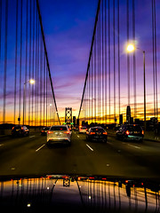 San Francisco Sunsets (Thomas Hawk) Tags: america baybridge california sanfrancisco usa unitedstates unitedstatesofamerica bridge sunset us fav10 fav25 fav50 fav100
