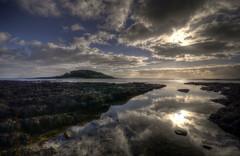 Looe Island from Hannafore, West Looe, Cornwall (Explored) (Baz Richardson (catching up again!)) Tags: cornwall looe hannafore westlooe looeisland rockpools rockshelf explored sundaylights