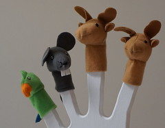 Finger puppets (spelio) Tags: ikea shopping sets test a6000 sony stuff things shooting art display toy
